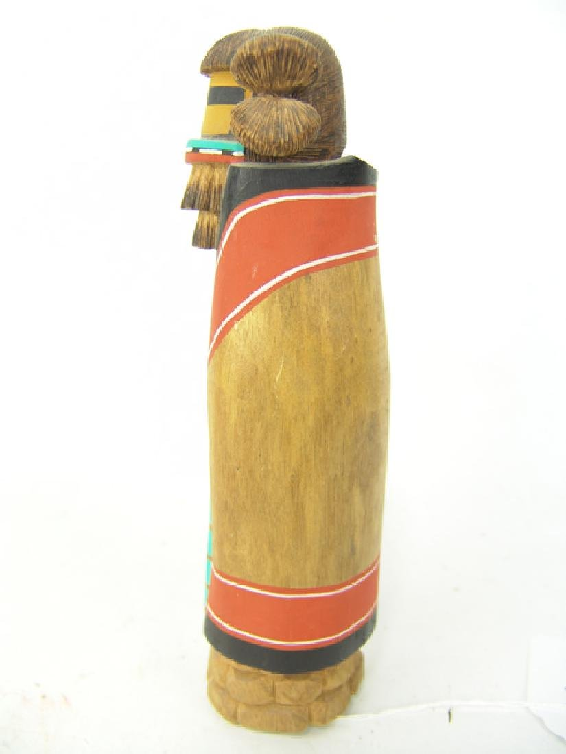2 Hopi Kachina Carvings - 4