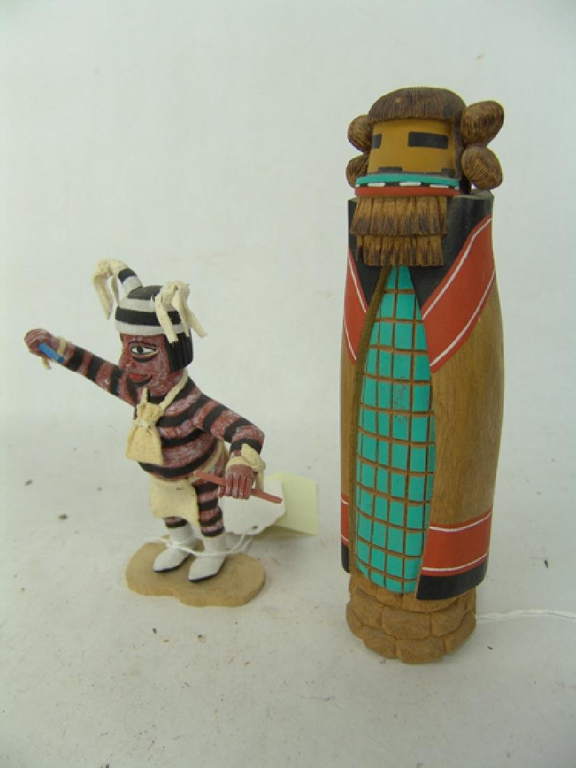 2 Hopi Kachina Carvings - 5