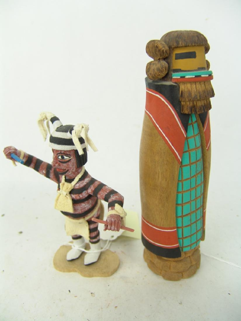 2 Hopi Kachina Carvings - 7