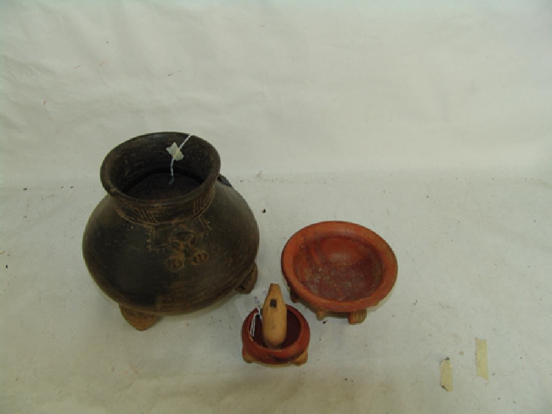 Box Lot of Pottery Items - 2