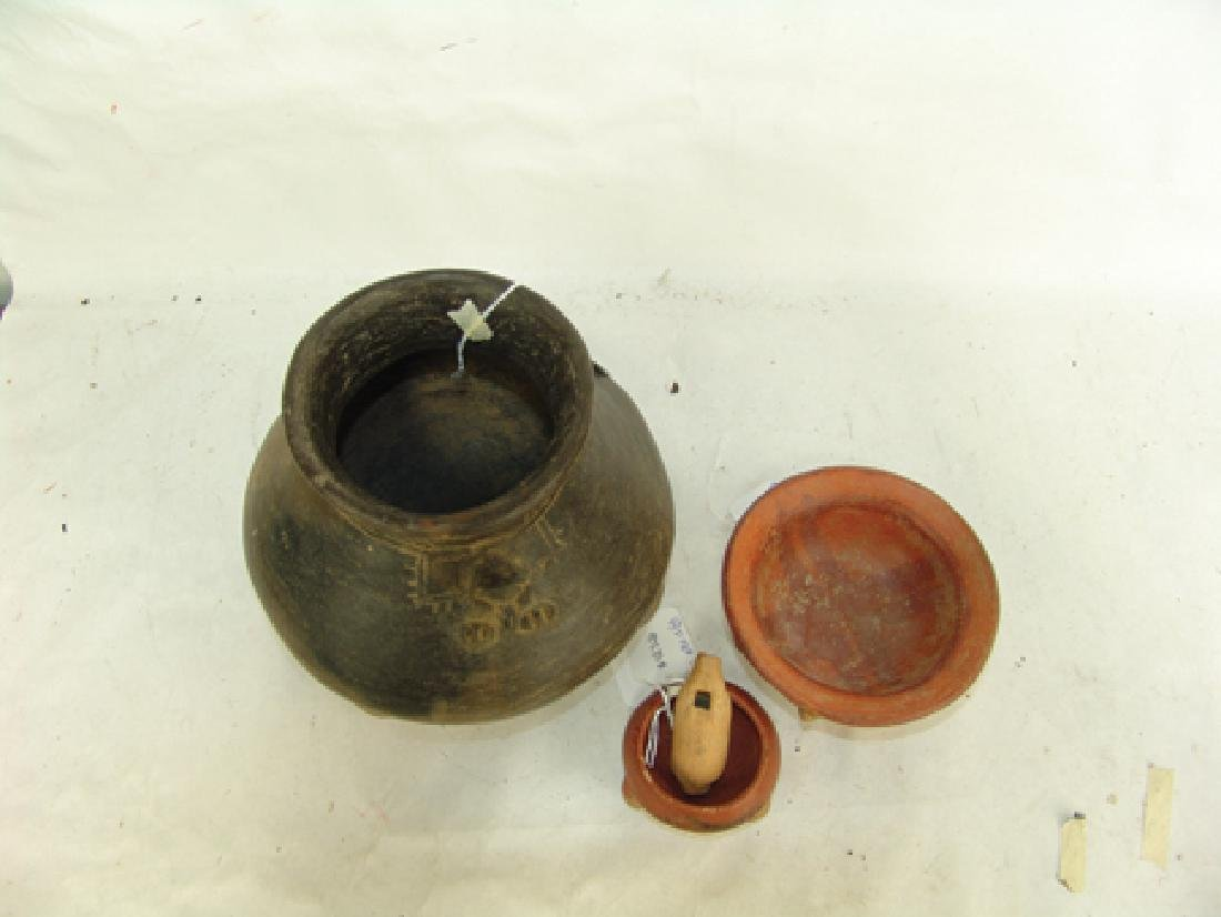 Box Lot of Pottery Items - 3