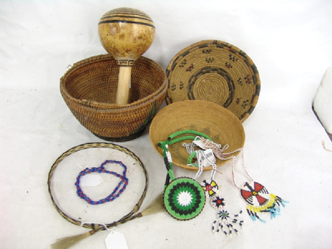 Box Lot of Miscellaneous Indian Material - 2