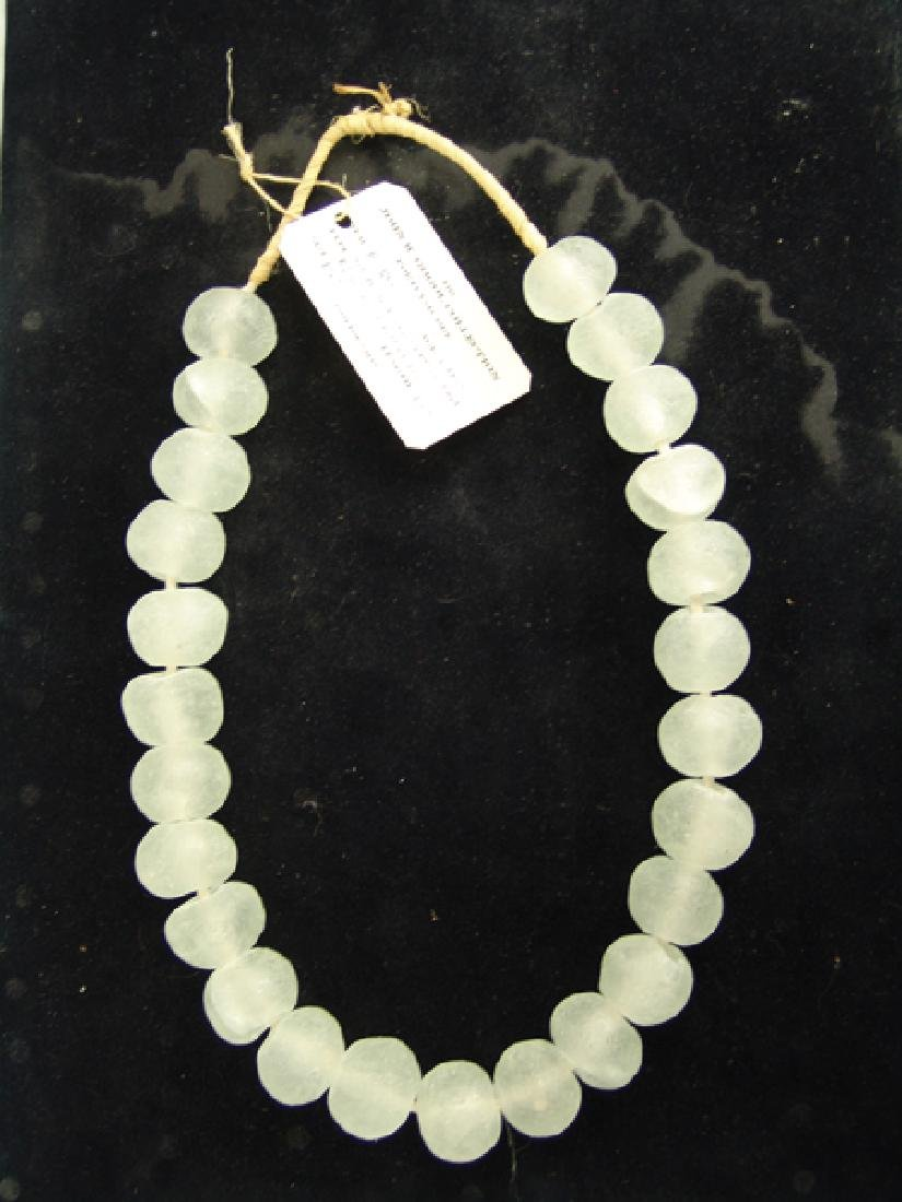Mammoth Sea Glass Trade Beads - 2