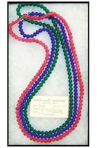 Peking Glass Trade Beads