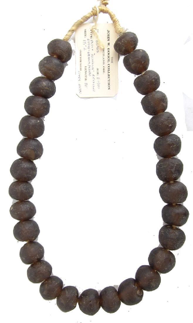 Mammoth Sea Glass Trade Beads