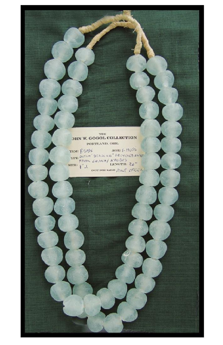 Dutch Sea Glass Trade Beads