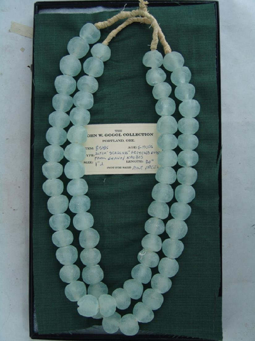 Dutch Sea Glass Trade Beads - 2