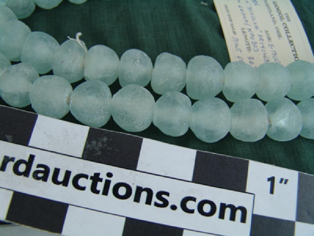 Dutch Sea Glass Trade Beads - 3