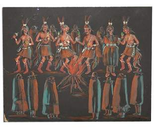 Andrew Tsinnijinnie Navajo 19162000
