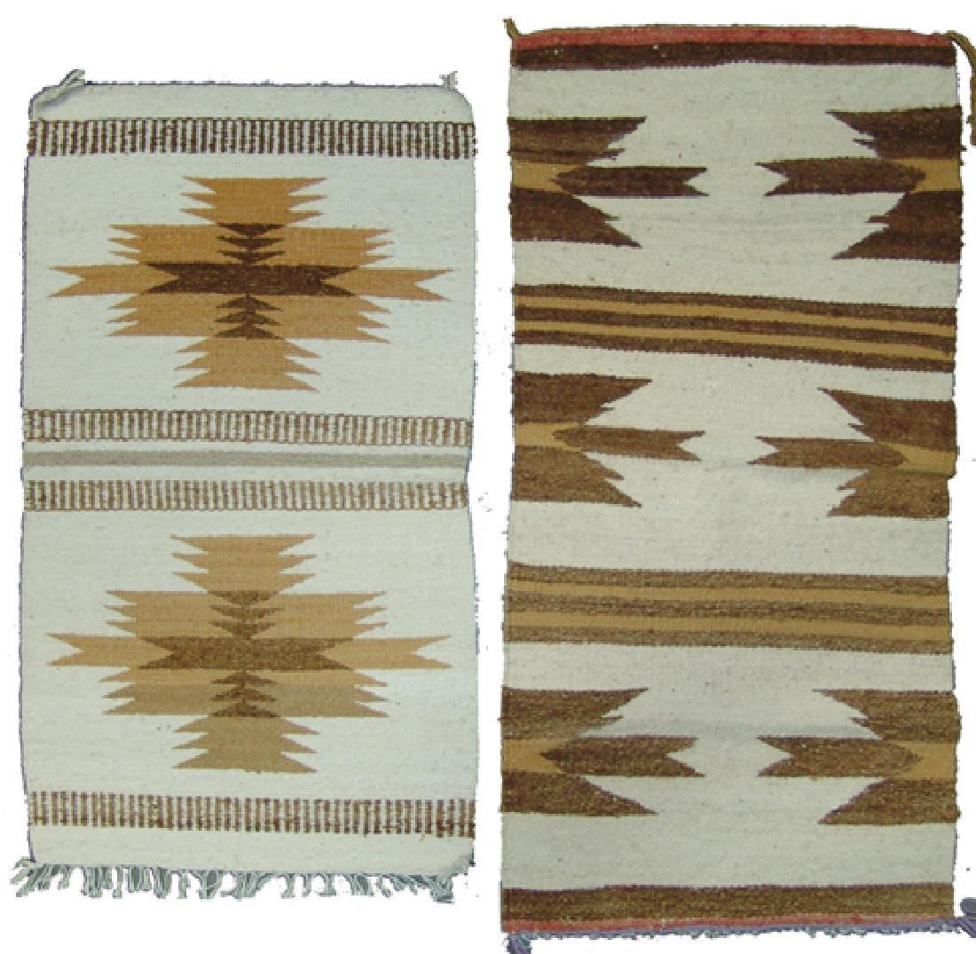 2 Vintage Navajo Rugs