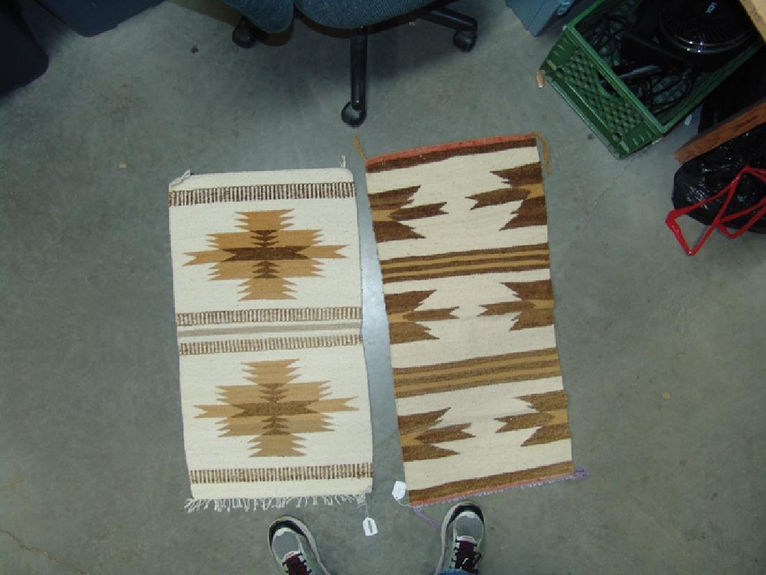 2 Vintage Navajo Rugs - 2