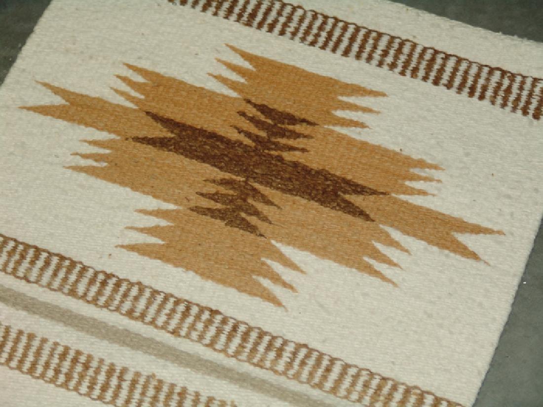 2 Vintage Navajo Rugs - 4
