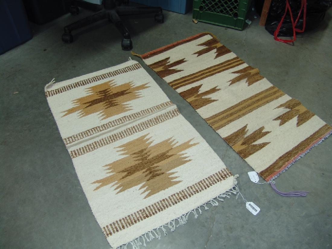 2 Vintage Navajo Rugs - 6