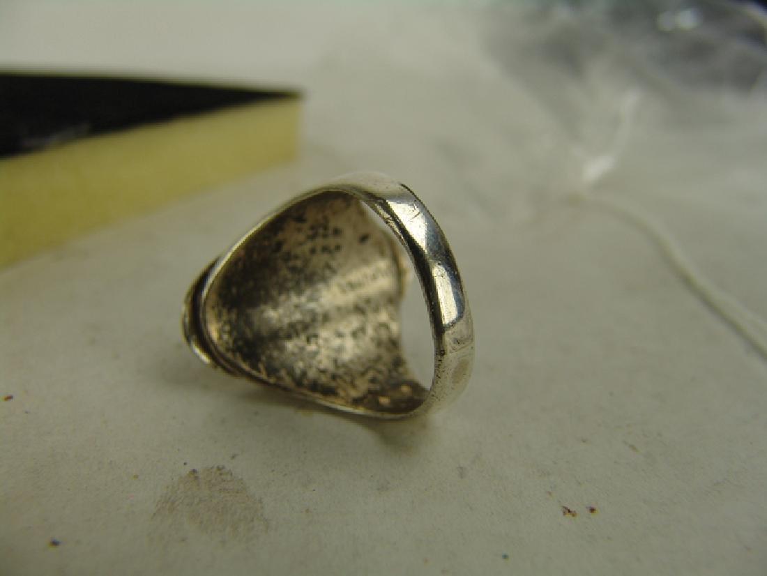 5 Silver Men's Rings - 3