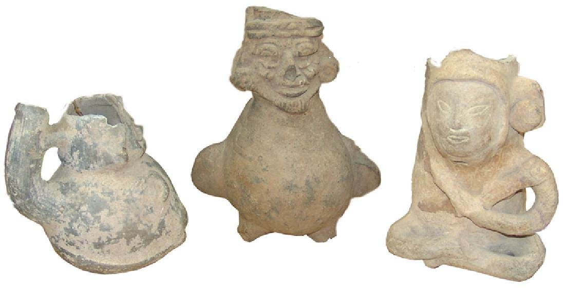 3 Pre Columbia Vessels