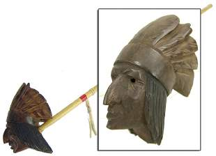 Iroquois Indian Head Pipe