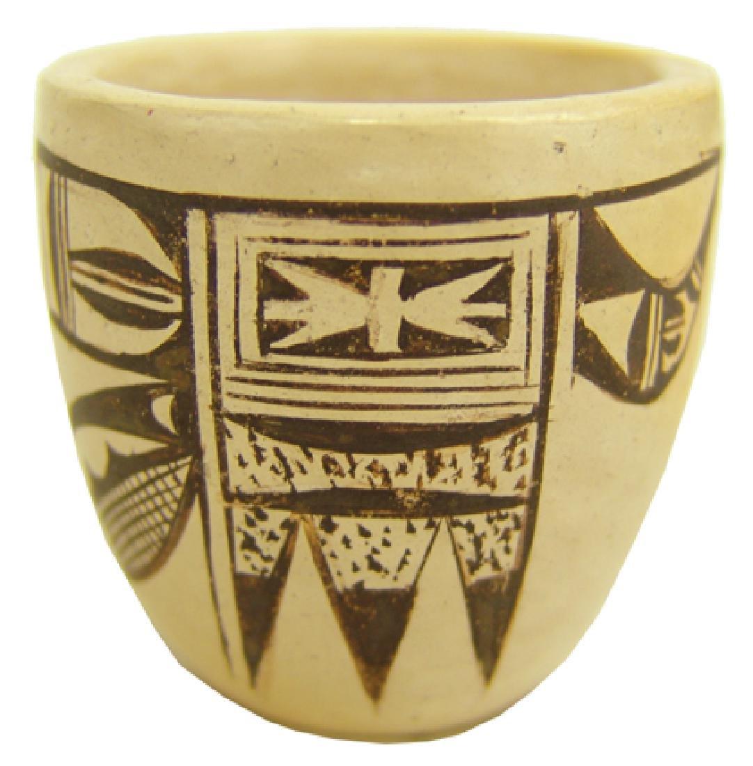 Hopi Pottery Jar - (Dextra Quotskuyva) Nampeyo