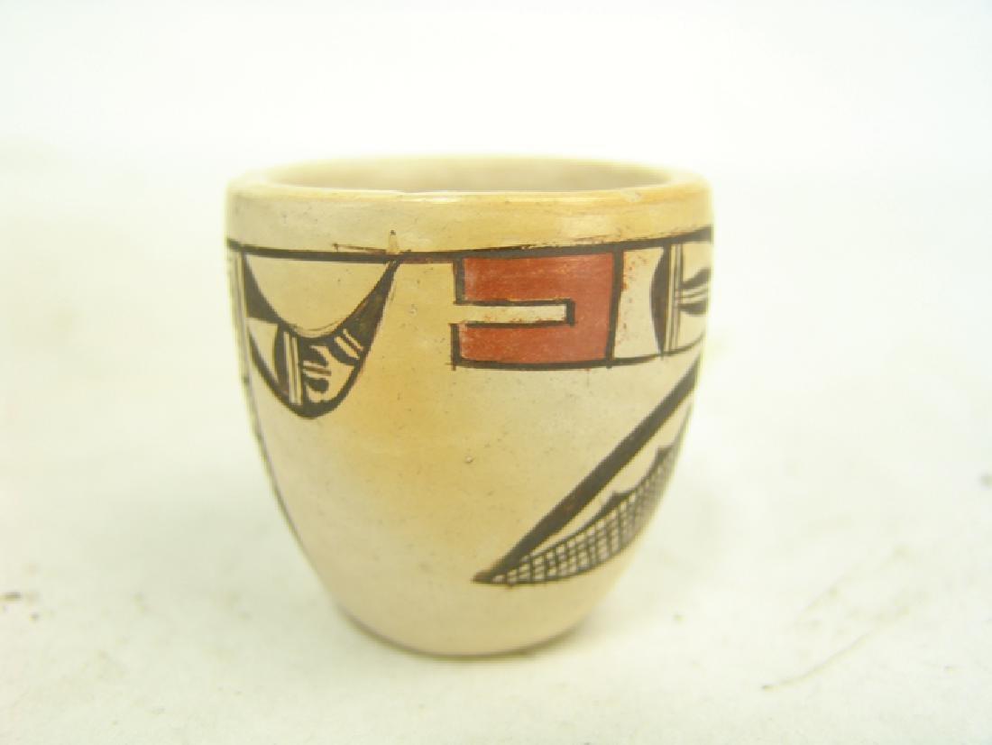 Hopi Pottery Jar - (Dextra Quotskuyva) Nampeyo - 3
