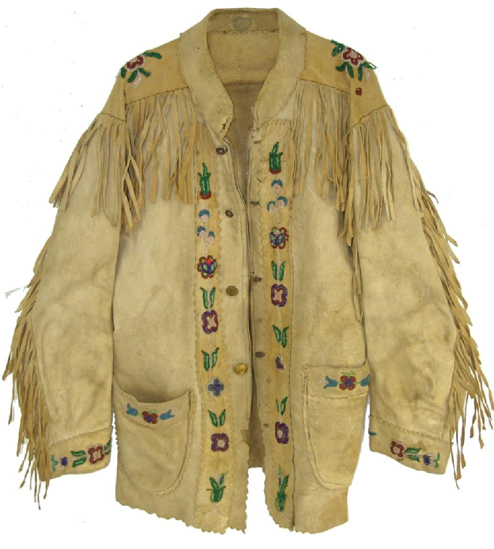 Athabascan Beaded Jacket