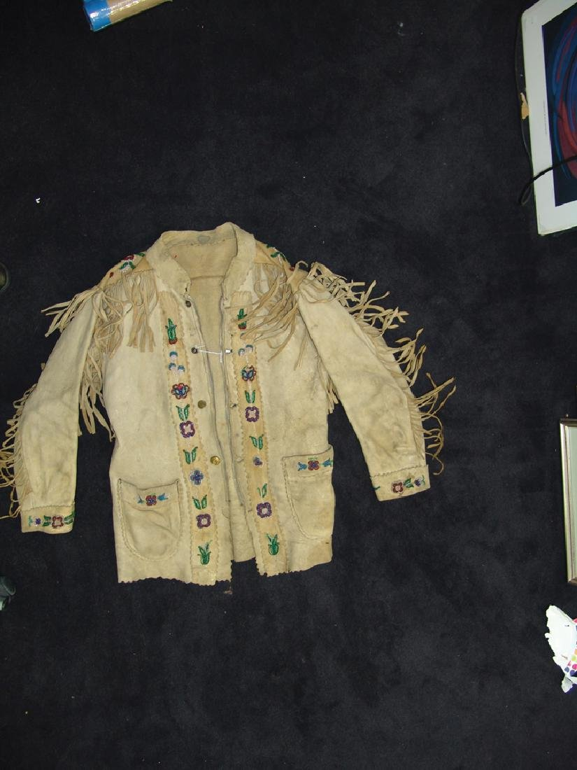 Athabascan Beaded Jacket - 2