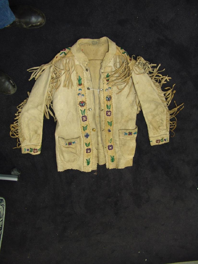 Athabascan Beaded Jacket - 3