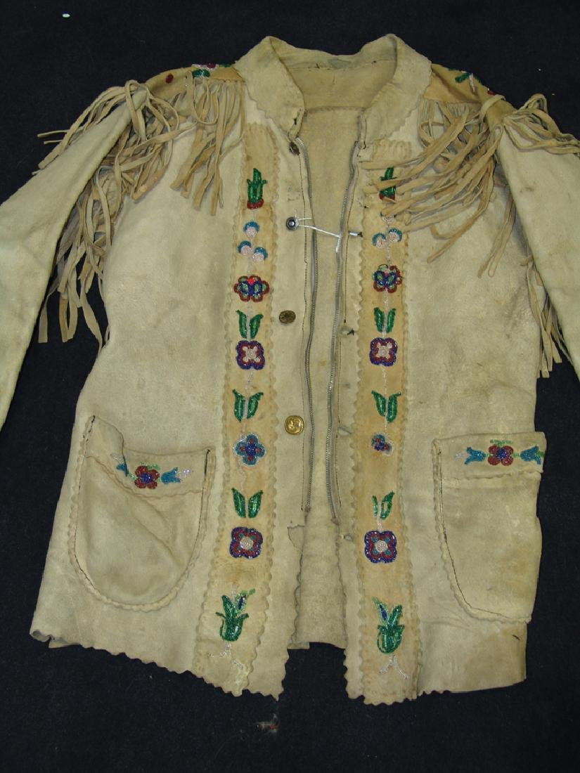 Athabascan Beaded Jacket - 6