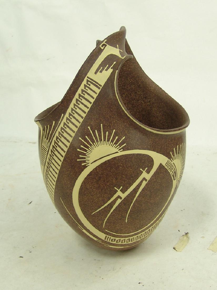 Mata Ortiz Pottery Jar - Jose Quezada - 2