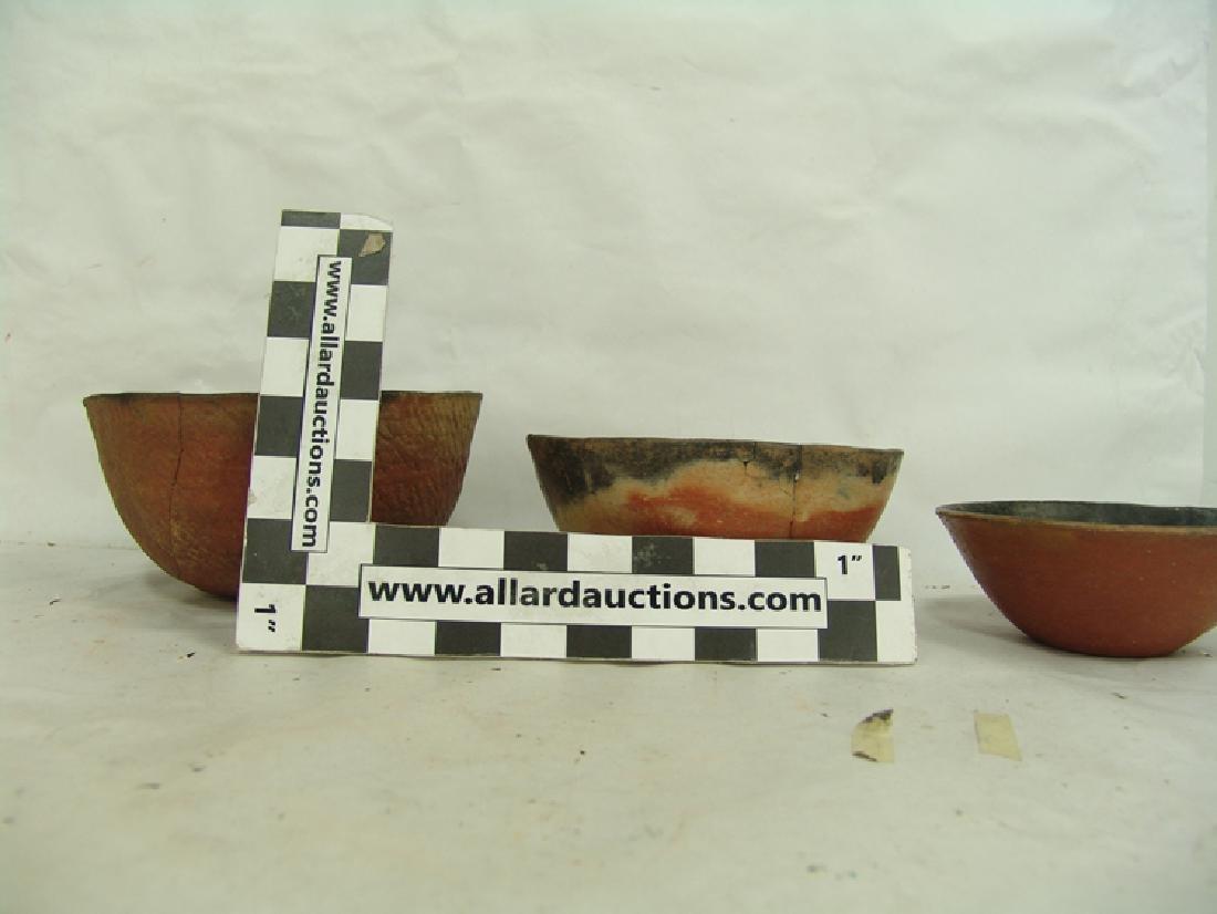 3 Anasazi Pottery Bowls - 5