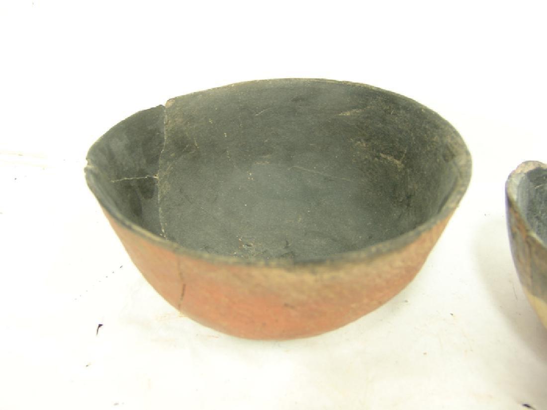 3 Anasazi Pottery Bowls - 7