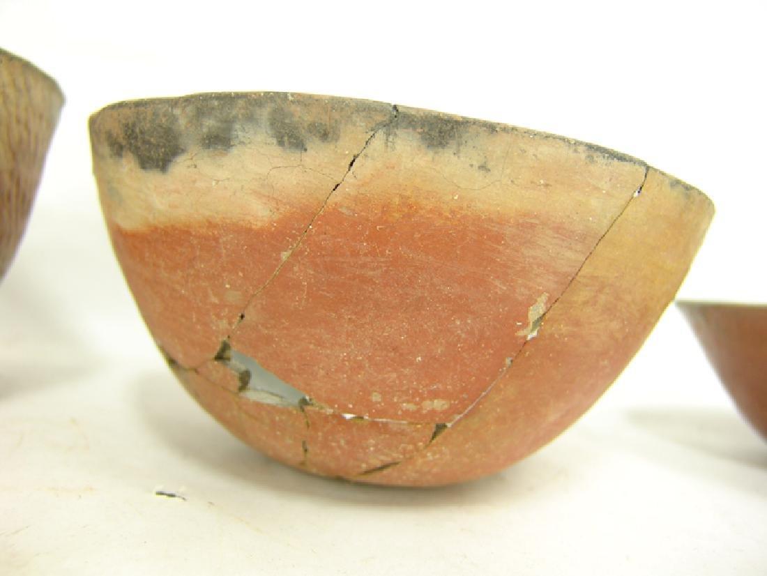 3 Anasazi Pottery Bowls - 9