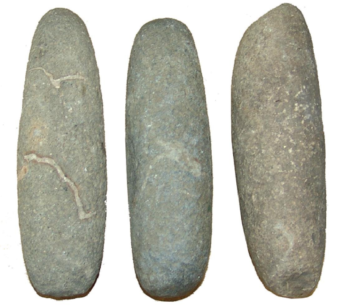 3 Pre Historic Grinding Stone