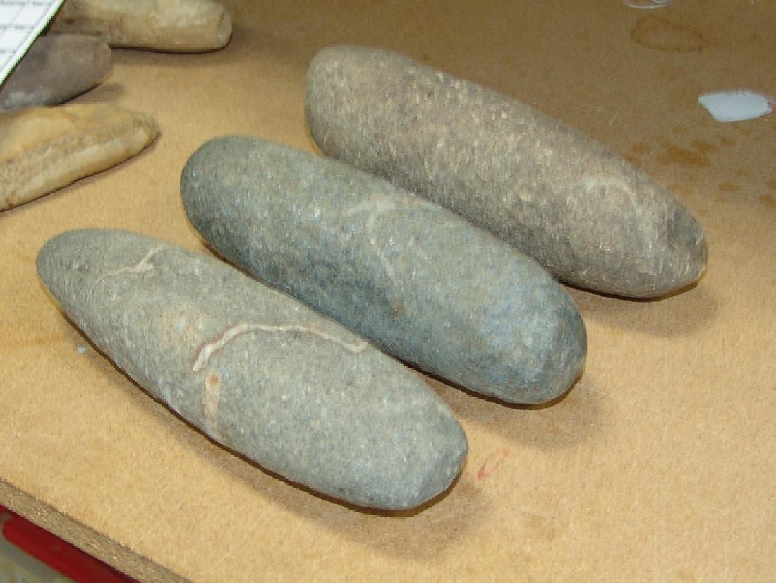 3 Pre Historic Grinding Stone - 2