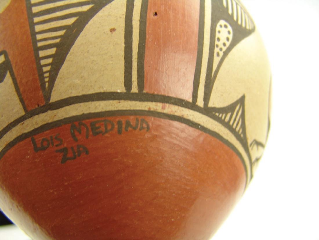 Zia Pottery Jar - Lois Medina (1959-2003) - 6