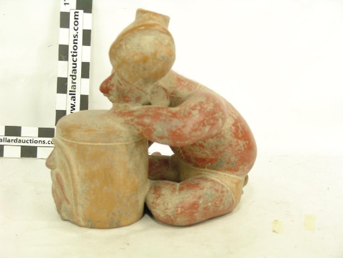 Colima Pottery Figure - 3