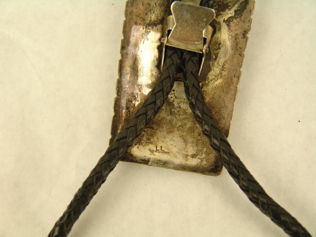 """Navajo Claw Bolo Tie - """"LL"""" - 3"""