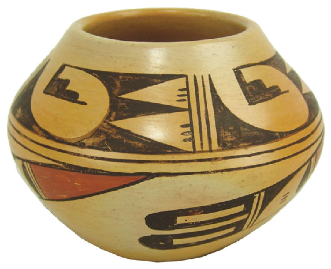 Hopi Pottery Jar - Ethel Youvella (1909-2006)
