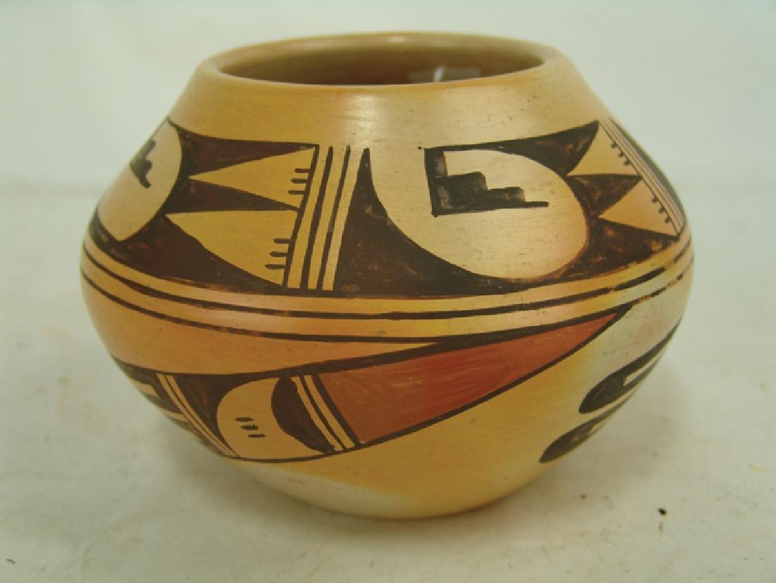 Hopi Pottery Jar - Ethel Youvella (1909-2006) - 2