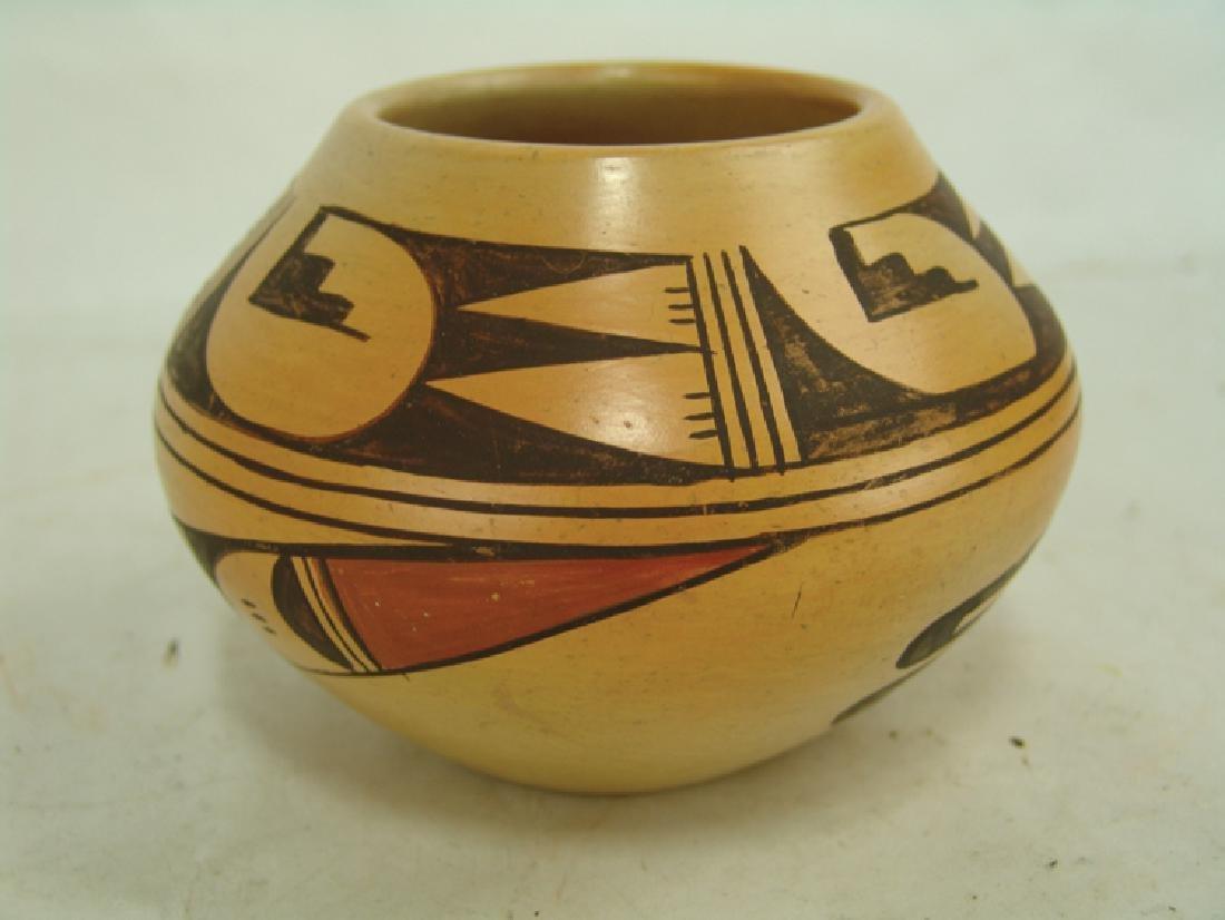 Hopi Pottery Jar - Ethel Youvella (1909-2006) - 3