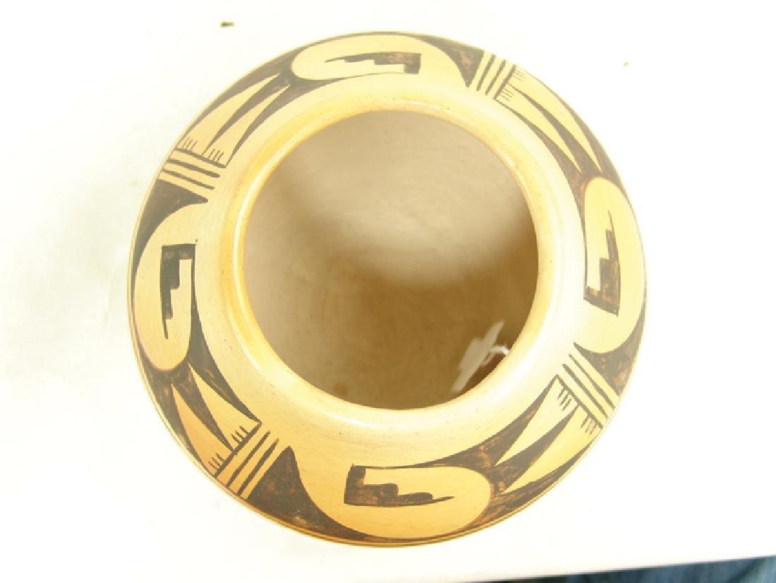 Hopi Pottery Jar - Ethel Youvella (1909-2006) - 5