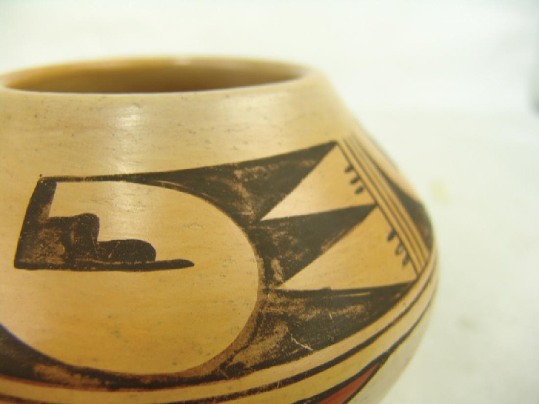 Hopi Pottery Jar - Ethel Youvella (1909-2006) - 6