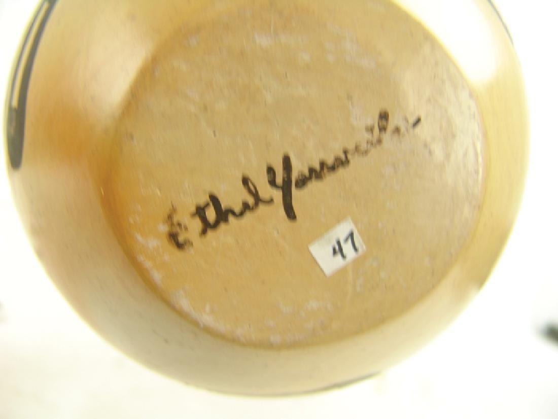 Hopi Pottery Jar - Ethel Youvella (1909-2006) - 7