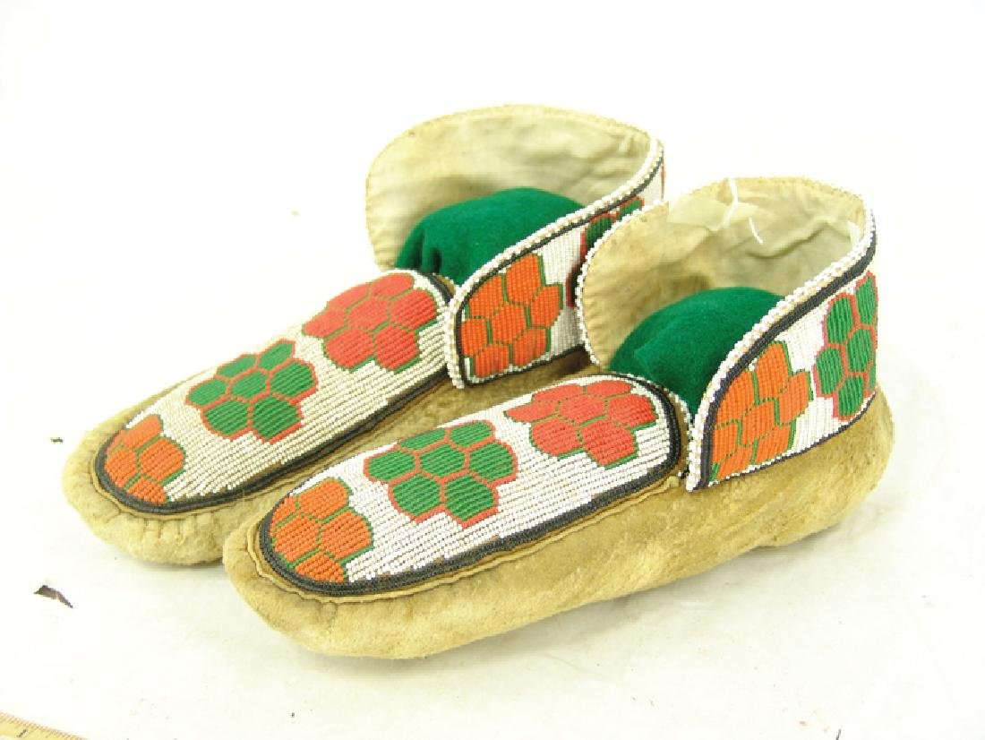 Cree Beaded Moccasins - 2