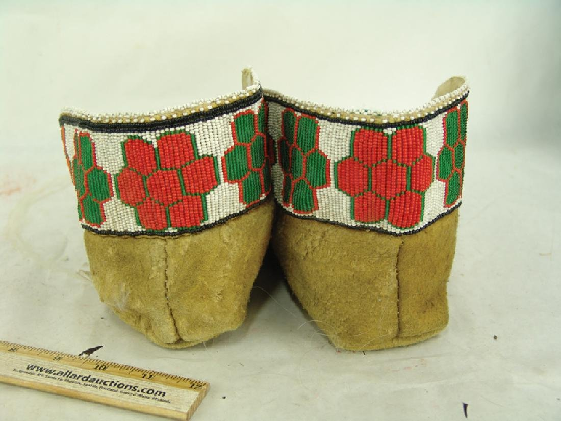 Cree Beaded Moccasins - 6