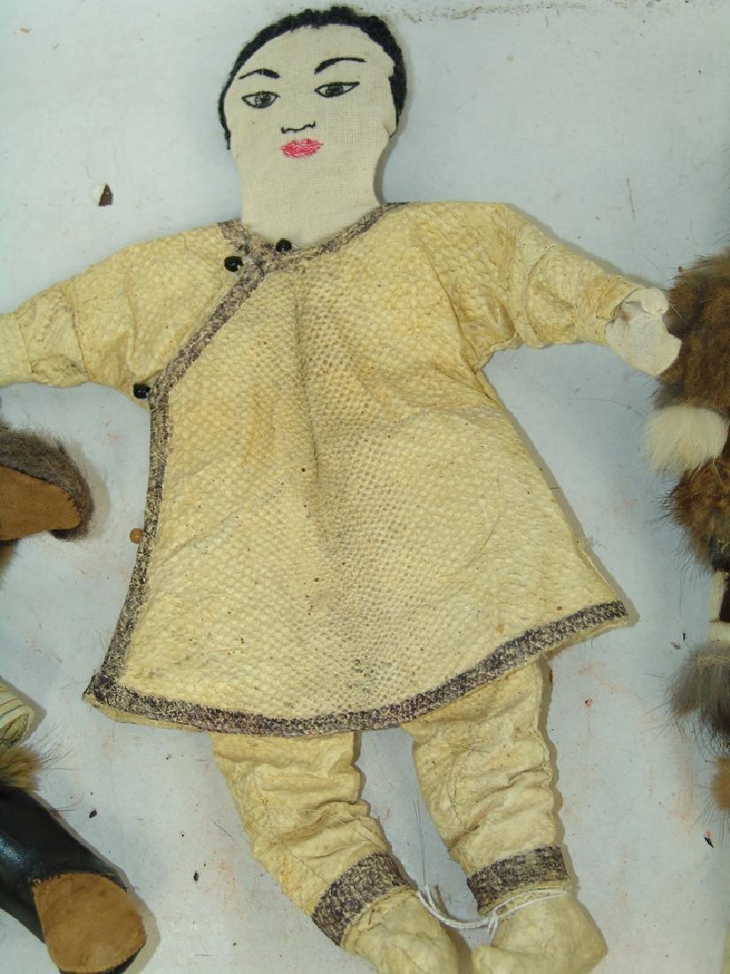 Group of Eskimo Dolls, Etc. - 3