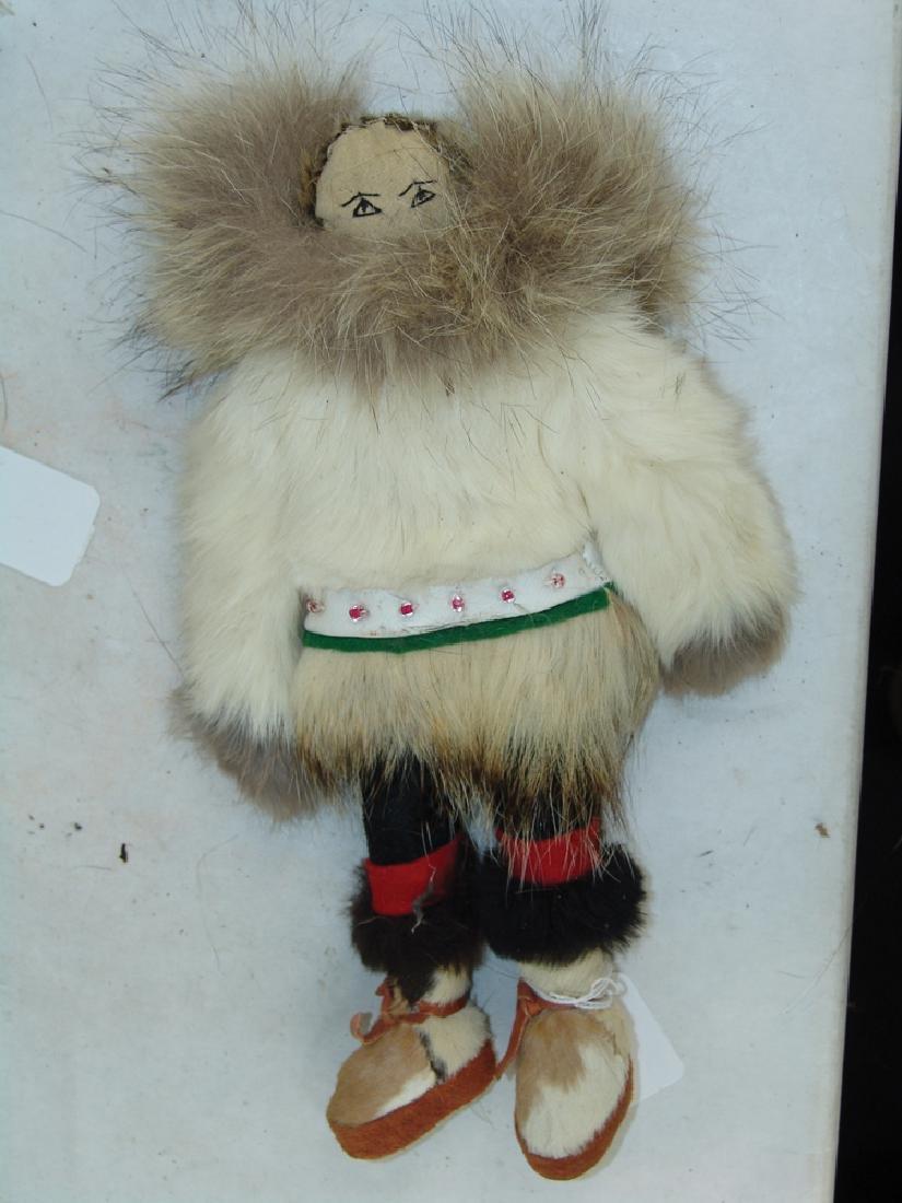 Group of Eskimo Dolls, Etc. - 6