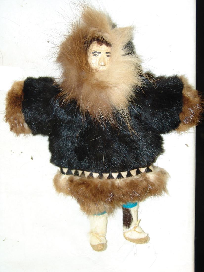 Group of Eskimo Dolls, Etc. - 8
