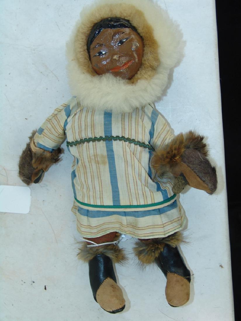 Group of Eskimo Dolls, Etc. - 9