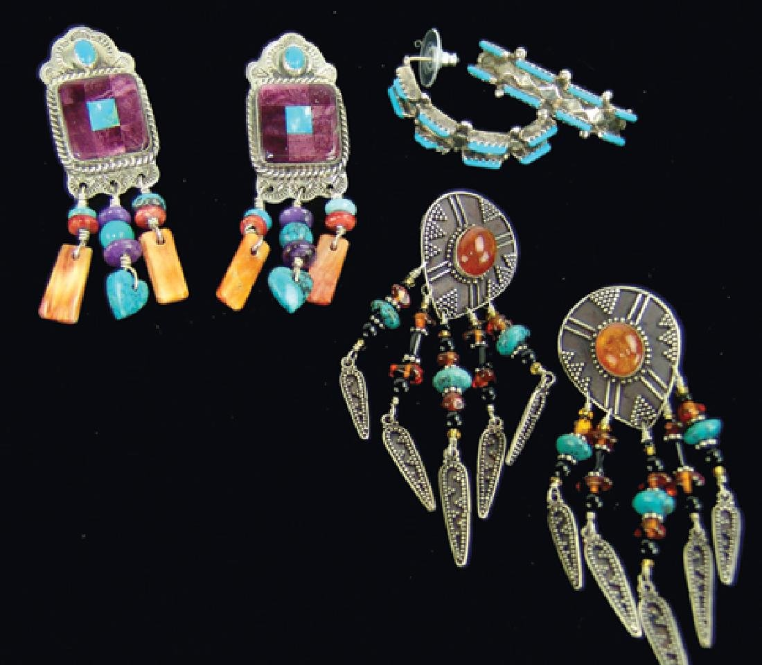 3 Silver Jewelry Items