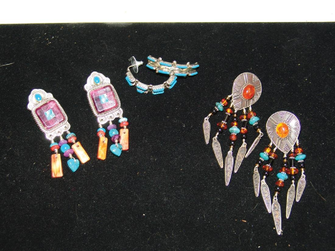 3 Silver Jewelry Items - 2