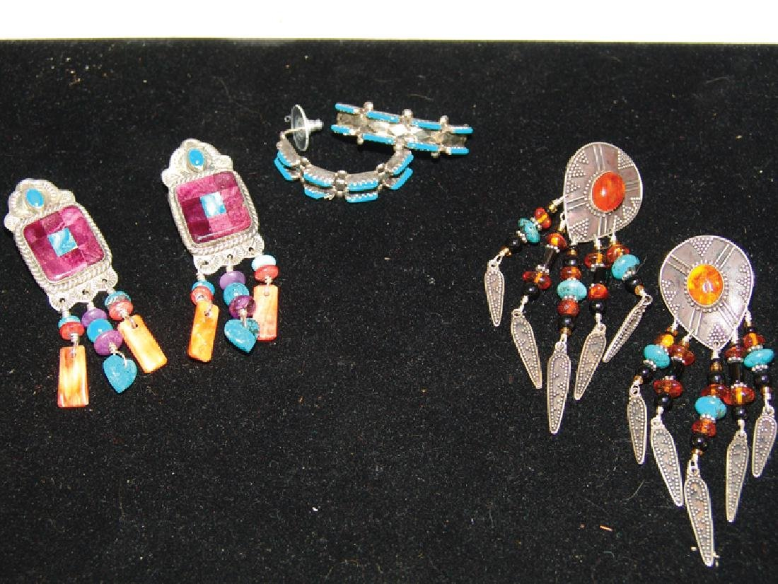 3 Silver Jewelry Items - 3